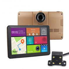 Portable Automobile GPS Navigation Bluetooth AVIN Car GPS - Gps with europe and us maps