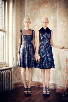 Erdem Pre-Fall 2013 Collection Slideshow on Style.com classic feminine and silhouettes with a modern element