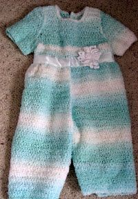 Girl's Romper with Matching Hat and purse