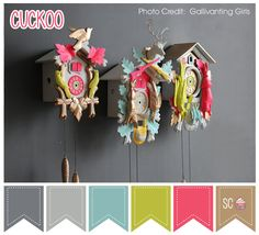 Cuckoo Color Palette - Inspire Sweetness  http://inspiresweetness.blogspot.com/2013/10/cuckoo-color-palette.html