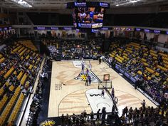 "SECU Arena Towson Tigers Basketball Paper Poster (24""x36"")"