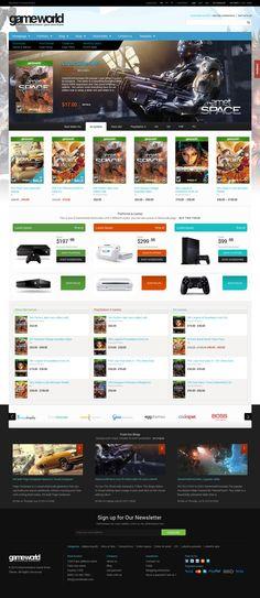 WooCommerce Game WordPress Theme - GameWorld | #woocommerce #wordpressgametheme | Live Preview and Download: http://themeforest.net/item/woocommerce-game-theme-gameworld/9278334?WT.oss_phrase=&WT.oss_rank=30&WT.z_author=tvlgiao&WT.trending=trending&WT.ac=search_thumb&ref=ksioks