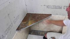 Advanced DIY Shower Tile Lessons Include How To Install A Shower Bench.  This Tile Shop Video Takes Tile Installation To The Next Level With An  Informative ...