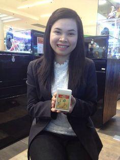 เมื่อปี 2556 เริ่มต้นทำงานร้านเพชร คุณชูชัย ขายเพชรด้วย เอาโสมเกาหลีไปกินที่ทำงานด้วย ขายด้วย