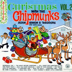 Alvin And The Chipmunks Christmas.38 Best Chipmunks Alvin The Chipmunks Album Covers