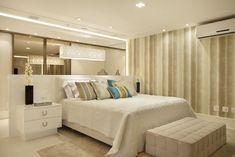 Quer ter um closet? Veja 6 formas modernas e sem bagunça de integrá-lo no seu quarto! - DecorSalteado