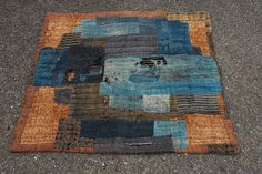 """Antique Japanese BORO Cotton Patched. About ''Boro''. back as in the Edo period. Boro are patched clothing with multiple small. There are a large quantity of clothing called """"Boro"""" ,which had been used. 