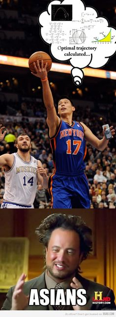Funny pictures about How Jeremy Lin works. Oh, and cool pics about How Jeremy Lin works. Also, How Jeremy Lin works photos. Best Funny Pictures, Funny Images, Funny Photos, Math Major, Hollywood Story, The Knick, Jeremy Lin, Funny Sites, Laugh Out Loud