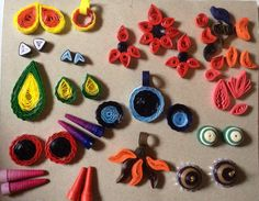 Students work at paper Jewelry workshop
