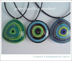 paper quilling pendant & brooch/팬던트 : 네이버 블로그