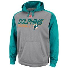 94ff646de8bb Miami Dolphins Majestic Gridiron IV Hooded Performance Sweatshirt by  Majestic.  54.95. Keep warm during