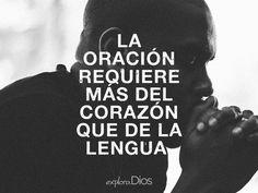 La #oración requiere más del #corazón que de la lengua. -Adam Clarke #reflexiones #DiosEsBueno #ExploraDios
