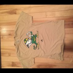 Notre Dame tee Fighting Irish football t-shirt! Size L, could be cropped or worn oversized if you desire. Adidas Tops Tees - Short Sleeve