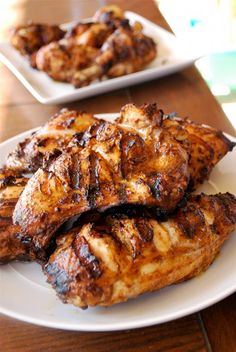 Tandoori Chicken >>>> This Tandoori Chicken recipe is so amazingly delicious, you'll want to eat it all the time. It's one of our family's favorite meals. Turkey Recipes, Chicken Recipes, Dinner Recipes, Roast Recipes, Tandori Chicken, Pollo Tandoori, My Burger, Cooking Recipes, Healthy Recipes