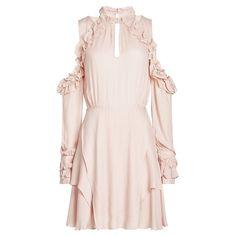 3b8f70c069e8a2 Rüschenkleid mit Cut Outs Kleidung Accessoires, Rüschen Kleid, Abgestuftes  Kleid, 15 Kleider,