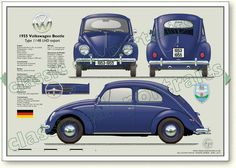 Classic Car News Pics And Videos From Around The World Car Volkswagen, Vw Cars, Automobile, Vw Engine, Hot Vw, Combi Vw, Classic Mercedes, Vw Beetles, My Dream Car
