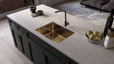 Kjøkkentrender 2021 | Byggmakker - Byggmakker Kitchens, Sink, Home Decor, Interior Decorating Styles, Different Types Of, Kitchen Design, Walls, Modern, Sink Tops