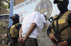 Más de 670 detenidos por extorsión en Honduras en 2016. El delito de extorsión en Honduras es castigado con entre 25 y 30 años de prisión.
