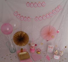 All-In-Prinzessin Party-Set rosa Kindergeburtstag von My Little Memories auf DaWanda.com