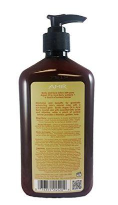 "Amir Argan Oil ""Touch of Tan"" Body Moisturizer, 18 Fl.oz - BazarVert.com"