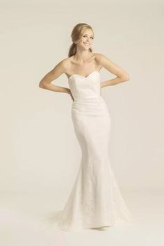 Claremont lace wedding gown, made in San Francisco, California by Amy Kuschel