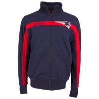 New England Patriots NFL Spike Full Zip Crew: The NFL Spike Full Zip Crew by Old Time Football features:… #Sport #Football #Rugby #IceHockey