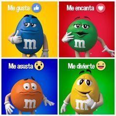 M&M's Mexico - ¿Cuál es tu reacción al escuchar que HOY ES