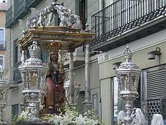 Procesion Virgen San Lorenzo, patrona de Valladolid.