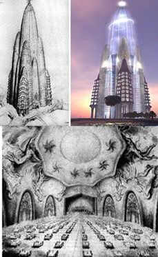 hotel attraction ideado por el prestigiado arquitecto cataln antonio gaud en estaba llamado