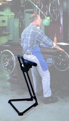 sit stand stool - Google Search