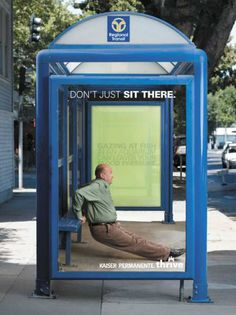 #funny advertisement. Lets be honest...you're sitting not #workingout