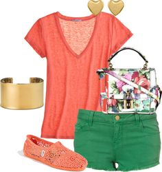floral, created by myrtle31 on Polyvore