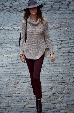 Free shipping and returns on AG Skinny Jeans & Free People Turtleneck Pullover at Nordstrom.com.