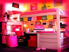 Bedroom, Inspiration Color Remodel Child Colors Idea Diy Glamorous Pretty Single Glam Crafts Nice Fun Teens Themed Dream Bedroom Ideas Captivating Girl: Decorating On Tween Girl Room Ideas With New Furnitures Cute Teen Rooms, Cool Dorm Rooms, Teen Girl Rooms, Teenage Girl Bedrooms, Awesome Bedrooms, Small Bedrooms, Teenage Girl Bedroom Designs, Bedroom For Girls Kids, Kids Rooms