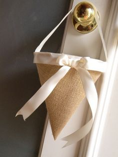 Burlap And Bling: How to Use Burlap In Your Wedding Decor And Still Make It Beautiful