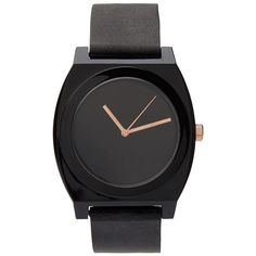 BLACK JELLY WATCH (€20) ❤ liked on Polyvore featuring jewelry, watches, rubber strap watches and jelly watches