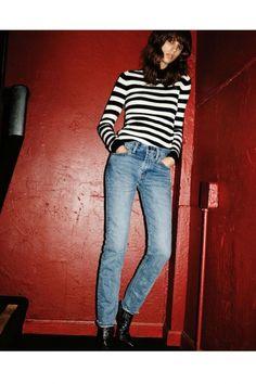 70年代のロックジーンズをリマスター! 「リーバイス®」の新フィットが発売。   FASHION   ファッション   VOGUE GIRL