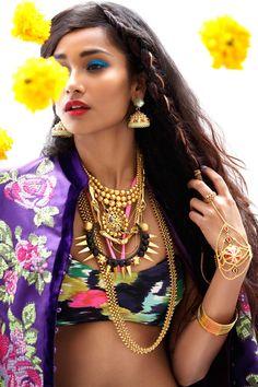 Nidhi Sunil & Radhika Nair - Grazia India
