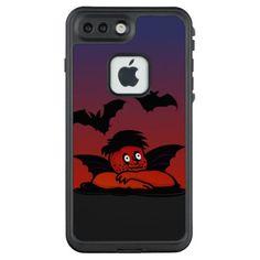 Raffaels Evil Twin Putte VZS2 LifeProof FRĒ iPhone 7 Plus Case - red gifts color style cyo diy personalize unique