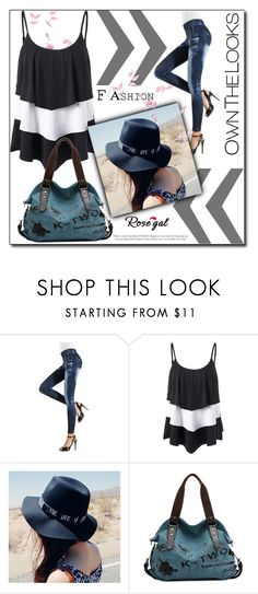 """""""Rosegal"""" by man0lya ❤ liked on Polyvore"""