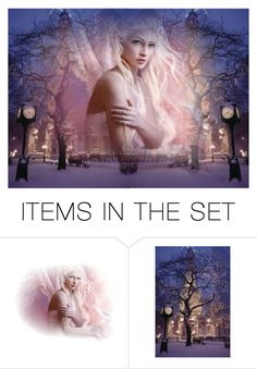 """""""Angels in the sky"""" by whiteflower7 ❤ liked on Polyvore featuring art"""
