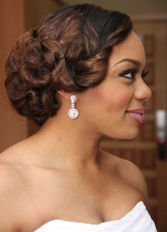 20 Wedding Hairstyles For Black Women