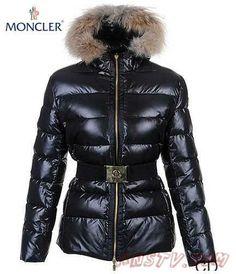 60b3fae1cf Moncler Femmes Angers Belted Quilt Veste With Noir