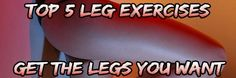 If you want to build legs for size & strength or want nice toned legs for the beach. Check out my top 5 leg exercises and you can get them!