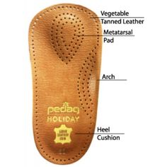 Pedag Insoles: Leather, Wool, and Corrective Shoe Inserts