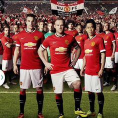 Official: United launch their new first team kit ahead of the 2014/15 season!