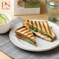 White Bread, Cottage Cheese, Healthy Recipes, Healthy Food, Sandwiches, Food Porn, Toast, Lunch, Ethnic Recipes
