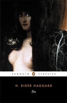 She by H. Rider Haggard - Penguin Books Ltd - ISBN 10 0140437630 - ISBN 13 0140437630 - Drawing on his fascination with African lore and… H Rider Haggard, King Solomon's Mines, Penguin Classics, African Tribes, First Novel, Penguin Books, He Is Able, Book Authors, Book Cover Design