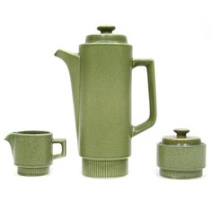 Danish Modern Coffee Set, $100, now featured on Fab.
