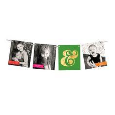 Holiday Photo Cards -- Ampersand Ribbon Strand | Pear Tree Greetings